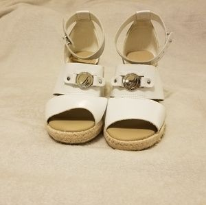 Nautica espadrille wedge sandals